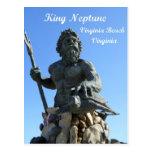 King Neptune, Virginia Beach, Virginia Post Cards