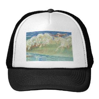 King Neptune's Horses on the Beach Trucker Hat