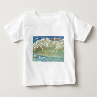 King Neptune's Horses on the Beach T Shirts
