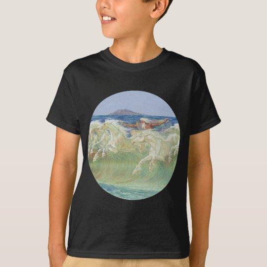 KING NEPTUNE'S HORSES RIDE THE WAVES T-Shirt