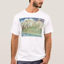 KING NEPTUNE'S HORSES RIDE THE WAVES T-Shirt