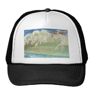 KING NEPTUNE'S HORSES RIDE THE WAVES TRUCKER HAT