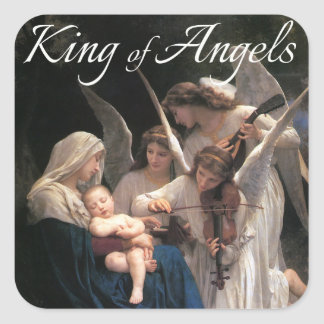 King of Angels Sticker