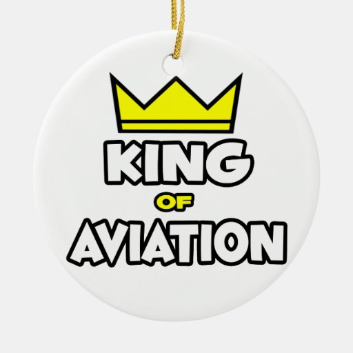 King of Aviation Ornament