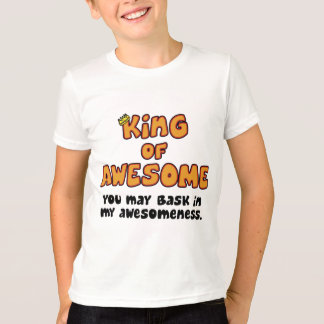 King of Awesome Child's T-Shirt