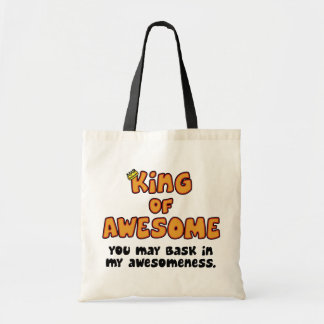 King of Awesome Tote Bag
