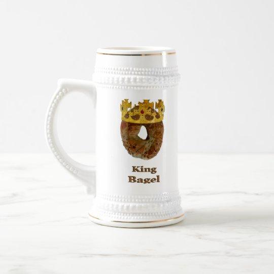 King of Bagels Beer Stein