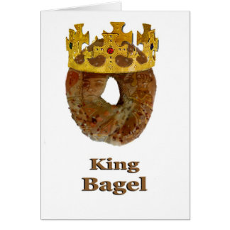 King of Bagels Card