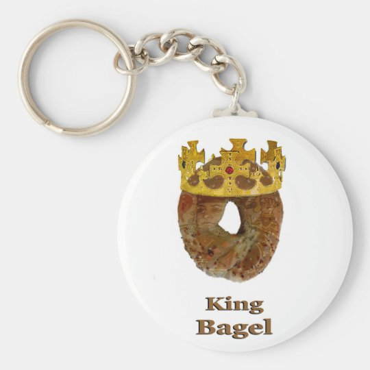 King of Bagels Keychain