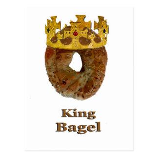 King of Bagels Postcard