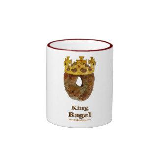 King of Bagels Ringer Mug