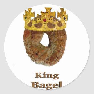 King of Bagels Sticker