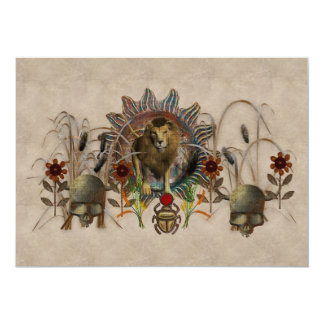King Of Beasts Card