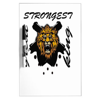King Of Beasts Dry Erase Whiteboards