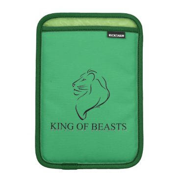 King Of Beasts iPad Mini Sleeve