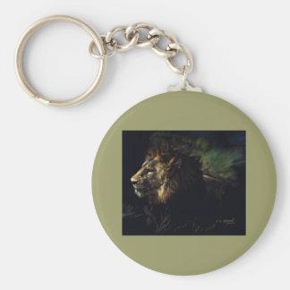King of Beasts Keychain