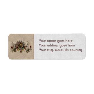 King Of Beasts Custom Return Address Labels