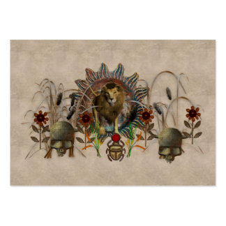 King Of Beasts Large Business Card