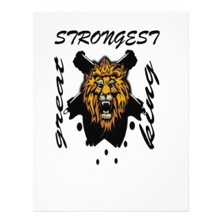 King Of Beasts Letterhead