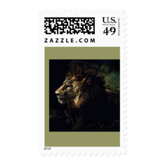 King of Beasts Postage