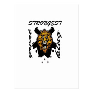 King Of Beasts Post Cards
