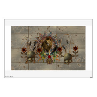 King Of Beasts Wall Decal