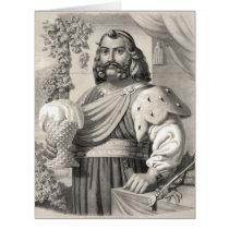 King of Beer 1858 Card