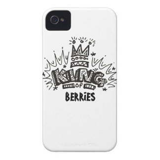 King Of Berries iPhone 4 Case