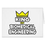 King of Biomedical Engineering Greeting Cards