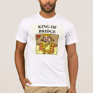 king of bridge duplicate game player T-Shirt