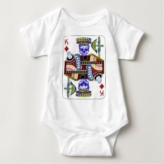 King of cards baby bodysuit