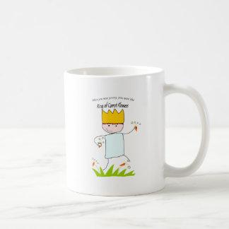 King Of Carrot Flowers Classic White Coffee Mug