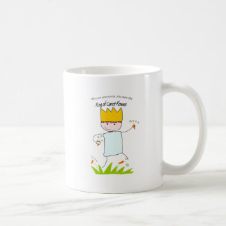 King Of Carrot Flowers Coffee Mug