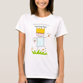 King Of Carrot Flowers T-Shirt