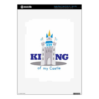 King Of Castle Decals For iPad 3