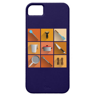 king of chef the kitchen utilities cook iPhone 5 carcasa