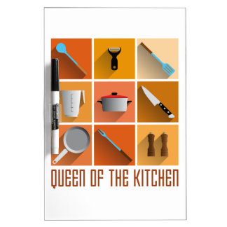 king of chef the kitchen utilities cook tablero blanco