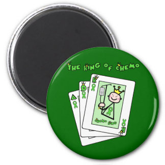 King of Chemo 2 Inch Round Magnet