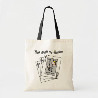 King of Chemo - Brain Cancer / Tumor Tote Bag