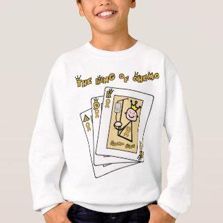 King of Chemo - Childhood Cancer Gold Ribbon Sweatshirt