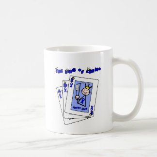 King of Chemo - Colon Cancer Coffee Mug