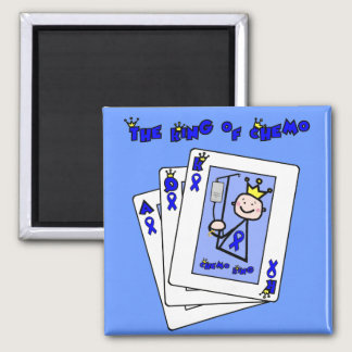 King of Chemo - Colon Cancer Magnet
