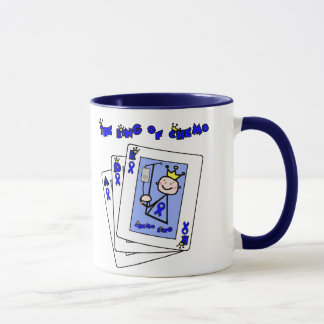 King of Chemo - Colon Cancer Mug