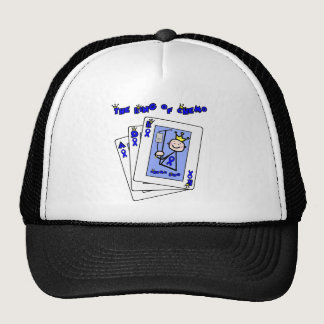 King of Chemo - Colon Cancer Trucker Hat