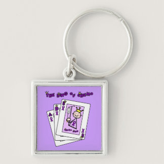 King of Chemo Hodgkins Lymphoma Keychain