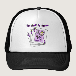 King of Chemo Hodgkins Lymphoma Trucker Hat