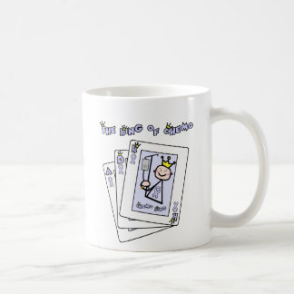 King of Chemo - Lavender Ribbon General Cancer Coffee Mug