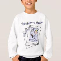 King of Chemo - Lavender Ribbon General Cancer Sweatshirt