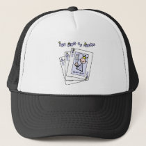 King of Chemo - Lavender Ribbon General Cancer Trucker Hat
