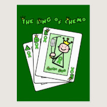 King of Chemo Postcard